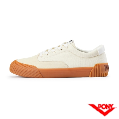 【PONY】SUBWAY2系列滑板鞋-女款-米白色