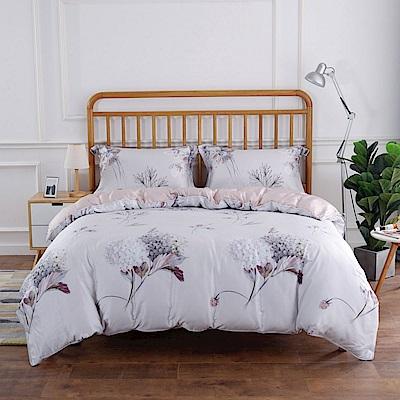 夢工場 左岸迷香 天絲頂規款兩用被鋪棉床包組-雙人