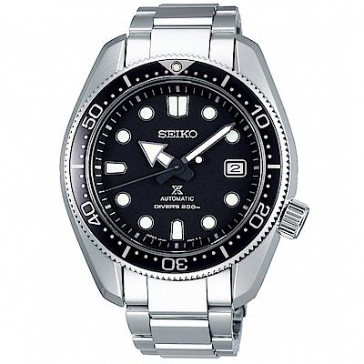 SEIKO精工PROSPEX 200米潛水機械手錶SPB077J1-黑/44mm