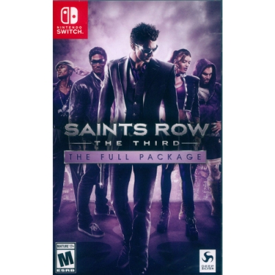 黑街聖徒 3 完全版 Saints Row: The Third - THE FULL PACKAGE - NS Switch 英文美版