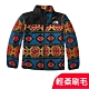 The North Face 青少年款 TKA 100 輕柔刷毛抓絨保暖外套夾克_部落藍 product thumbnail 1
