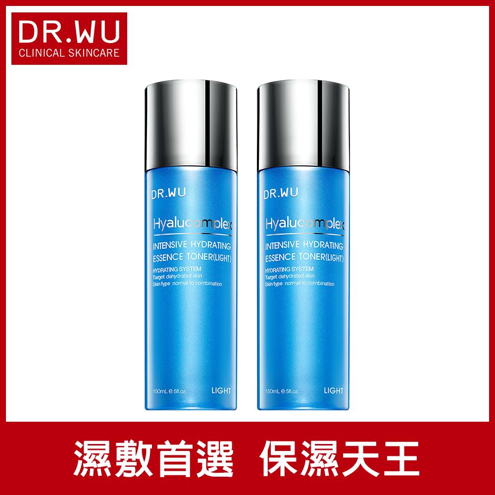 DR.WU玻尿酸保濕精華化妝水(清爽型)150MLx2