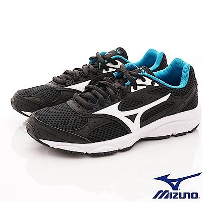 MIZUNO童鞋 透氣輕量運動鞋款 ON82002黑(中大童段)