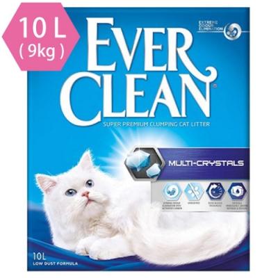 藍鑽歐規EVER CLEAN 水晶結塊貓砂10L