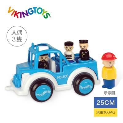 【瑞典 Viking toys】Jumbo警察吉普車-25cm