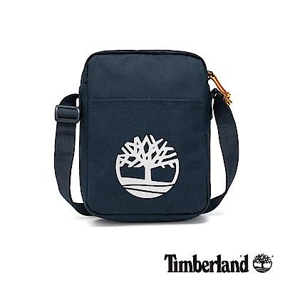 Timberland 中性深寶石藍大樹標誌印花側背包|A1CV7