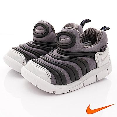 NIKE 毛毛蟲休閒童鞋 QSE106-001灰黑(寶寶段)