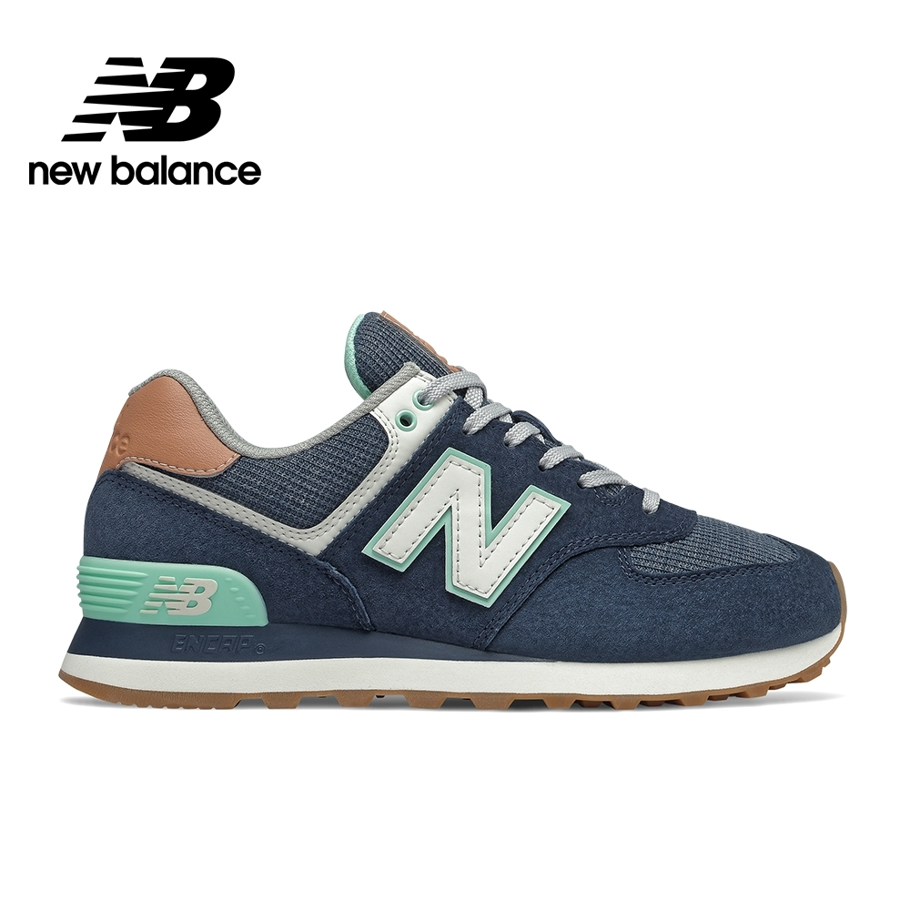 【New Balance】 復古鞋_女性_深藍_WL574BCM-B楦