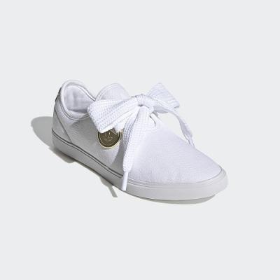 【時時樂限定】adidas SLEEK LO 經典鞋 女(黑/白任選)