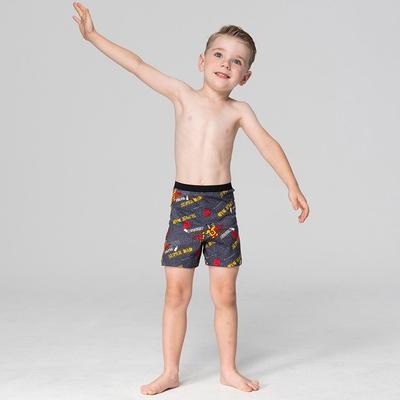 DADADO-我的爸爸是超人 110-130男童內褲(深灰) 品牌推薦-舒適寬鬆