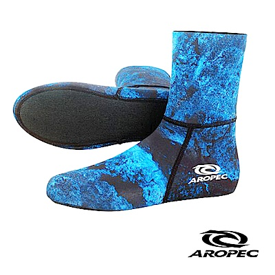 AROPEC Assassin 打獵男款潛水襪 迷彩藍