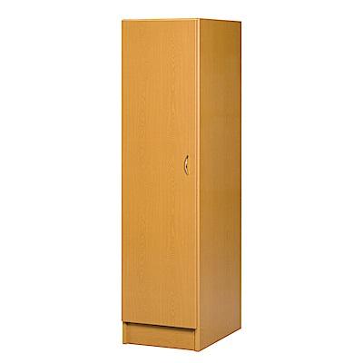 文創集 艾倫環保1.6尺塑鋼單吊衣櫃/收納櫃(右門櫃)-47x61.5x180cm-免組