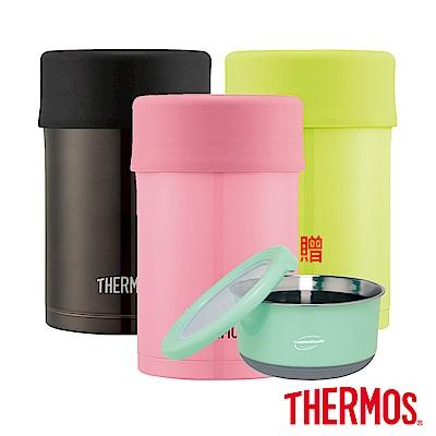 [下殺61折][買罐贈碗]THERMOS 膳魔師不鏽鋼真空食物燜燒罐0.5L
