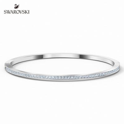 施華洛世奇 Rare 白金色時尚簡約手環