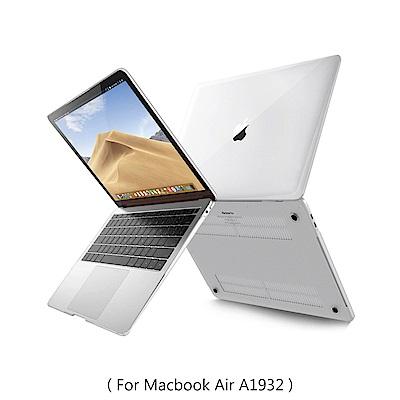 新款 MacBook Air 13吋 A1932輕薄防刮水晶保護殼(透明)