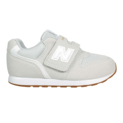 NEWBALANCE 男女小童休閒運動鞋-WIDE- 996系列 NB 麂皮 IZ996CPS 淺灰白