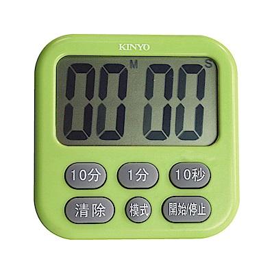 KINYO 電子式多按鍵大螢幕正倒數計時器(快)