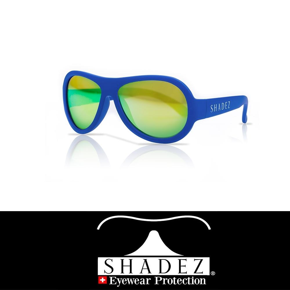 【瑞士SHADEZ】兒童太陽眼鏡 海洋藍 0-7歲