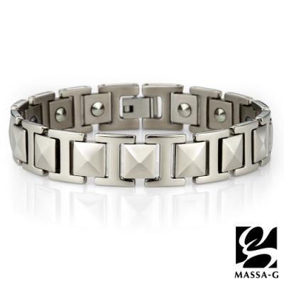 MASSA-G【泰坦】純鈦能量手環