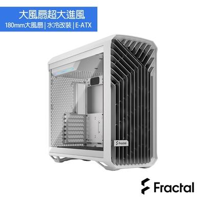 Fractal Design Torrent White TG Clear Tint 電腦機殼-白