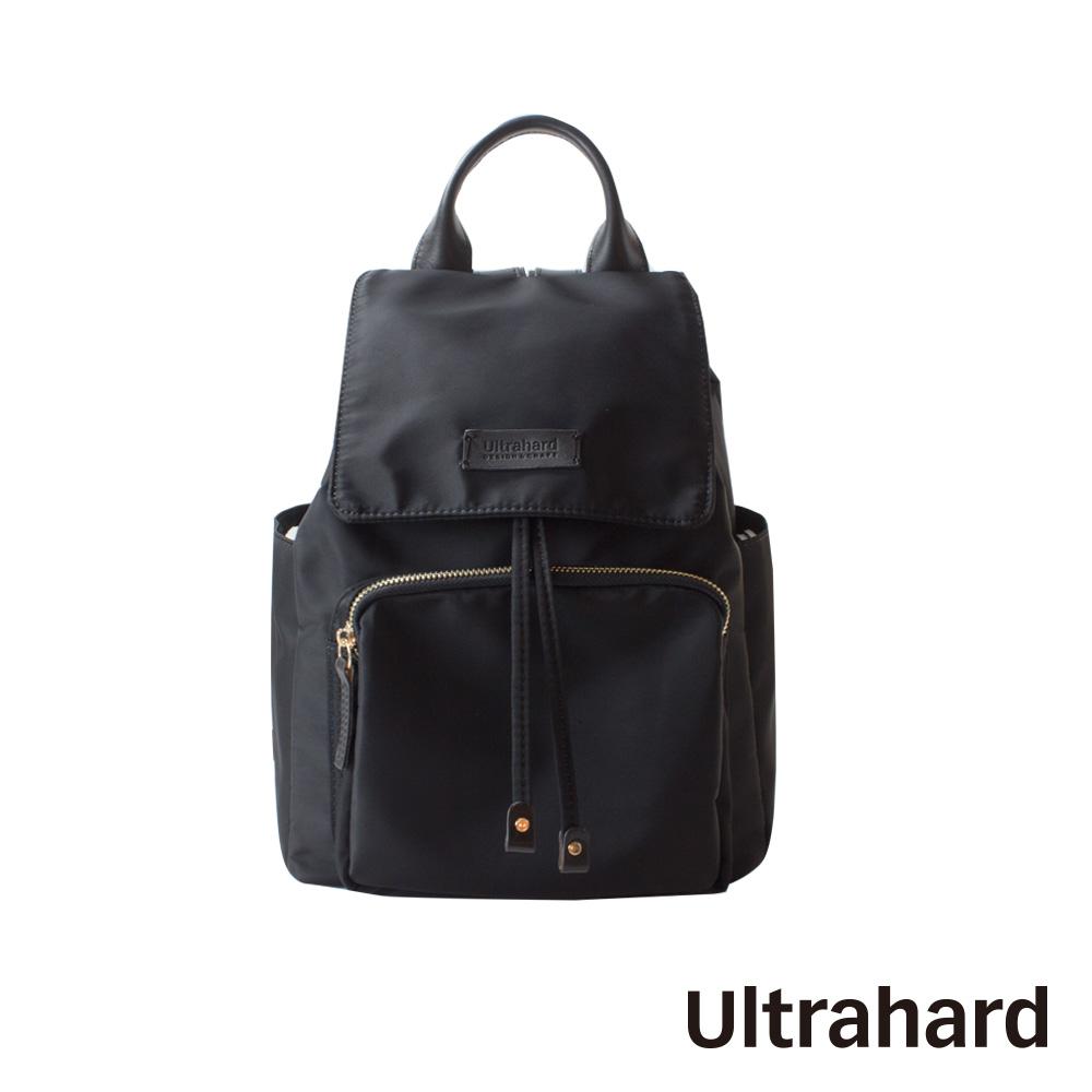 Ultrahard 防潑尼龍後背包(黑)