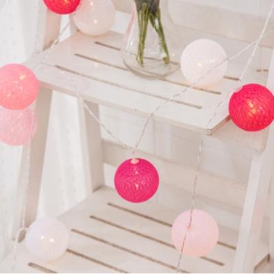 半島良品 IG爆款 派對布置/耶誕聖誕燈飾燈串 1.5米(A)- 棉球燈