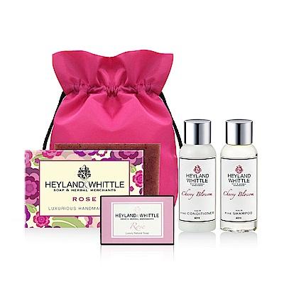H&W英倫薇朵 玫瑰香氛手工皂組