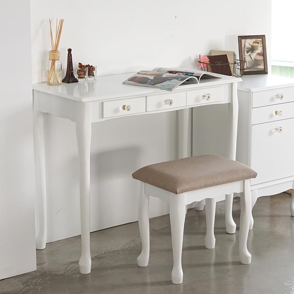 完美主義 化妝桌椅組/化妝椅/梳妝台(2色)