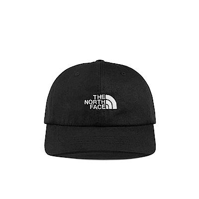 The North Face北面男女款黑色舒適透氣運動帽|355WKY4