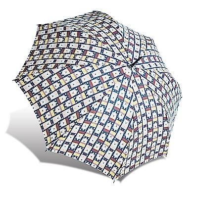 RAINSTORY  BEAR抗UV自動開直骨傘