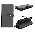 PKG ASUS Zenfone4 MAX ZC554KL 側翻式皮套-銅扣系列-黑色