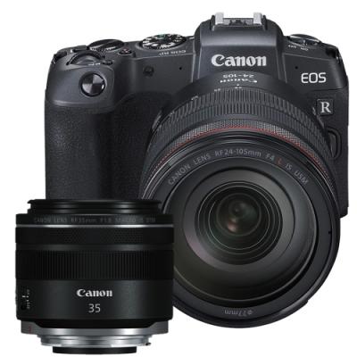 Canon EOS RP + RF 24-105mm + RF 35mm 雙鏡組(公司貨)