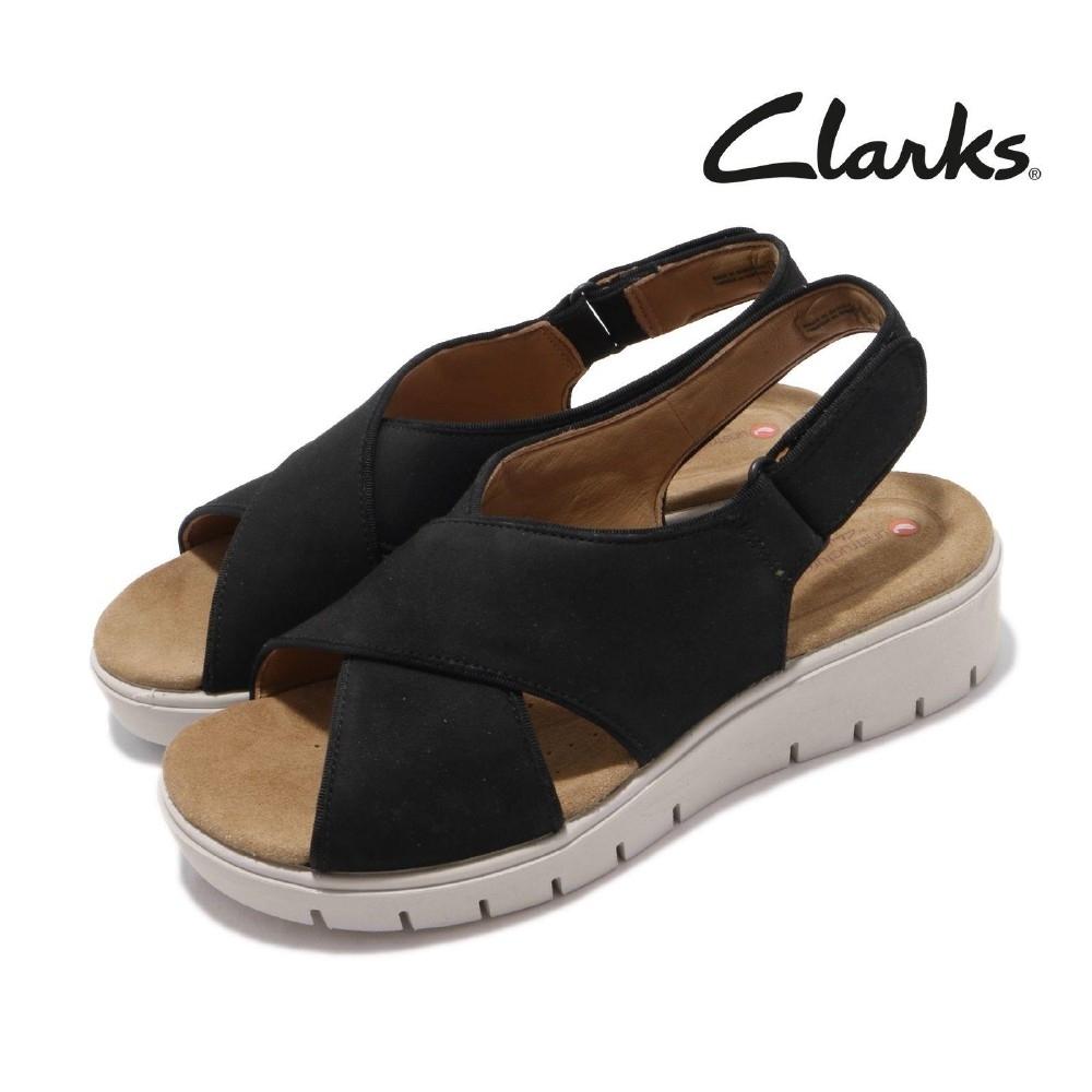 Clarks 涼拖鞋 Un Karely Sun 真皮 女鞋