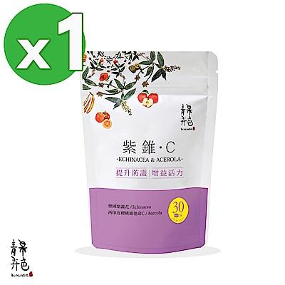 青果卉色 紫錐C(30顆/袋)+贈紫錐C(10顆/袋)