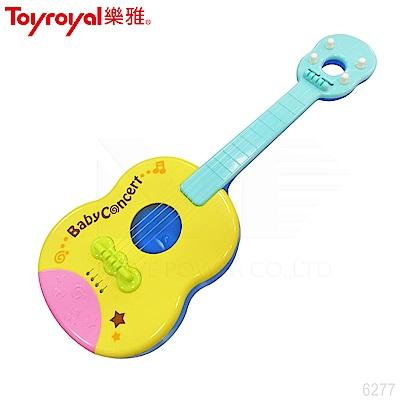 【任選】日本《樂雅 Toyroyal》小樂隊歡樂吉他 (樂器玩具)