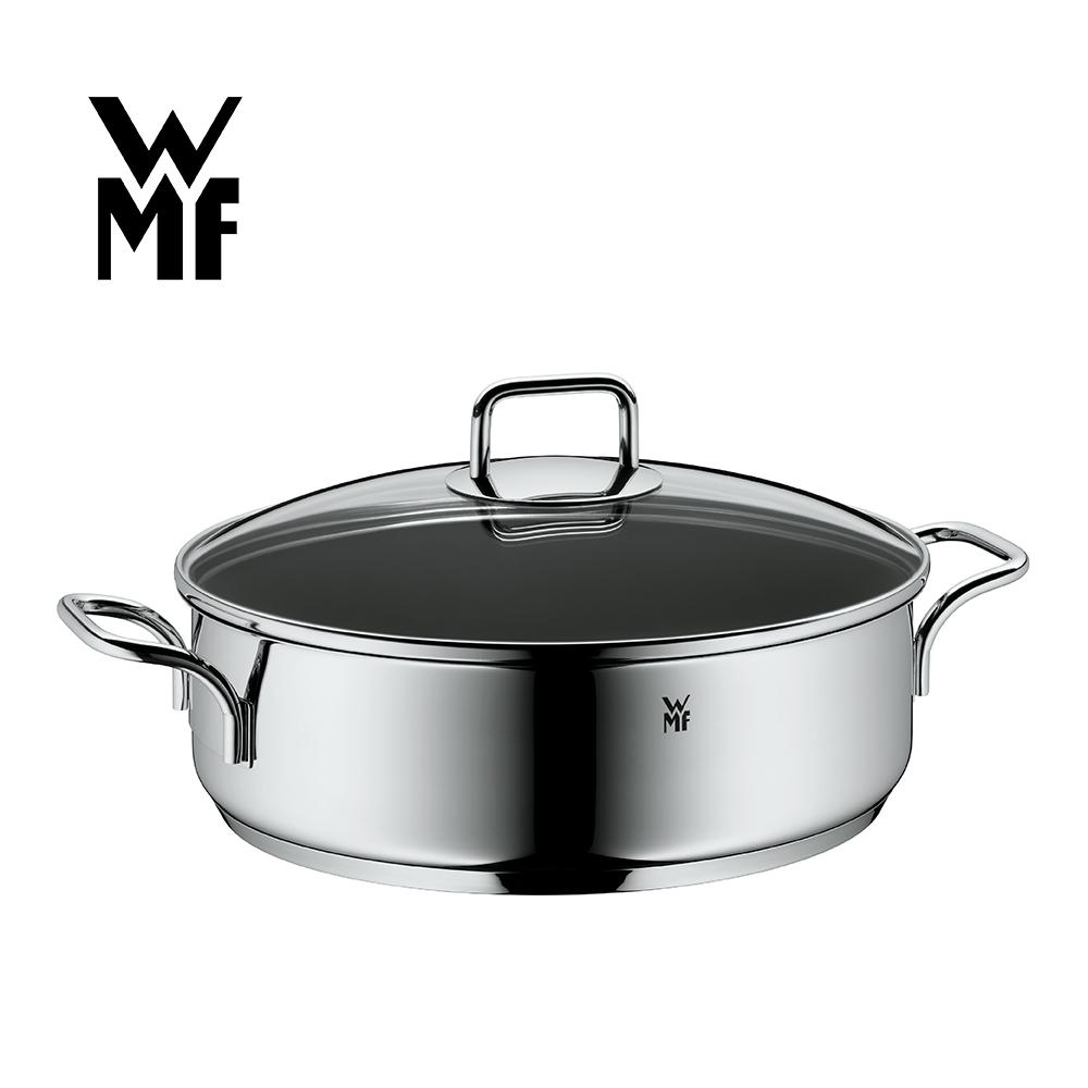 德國WMF ProfiSelect 雙耳淺燉鍋 28CM (含蓋)
