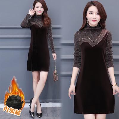 【韓國K.W.】(現貨)女神同款歐美時尚個性洋裝