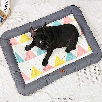 時時樂 夏季冰絲寵物涼墊 寵物窩 寵物床 狗窩 貓窩
