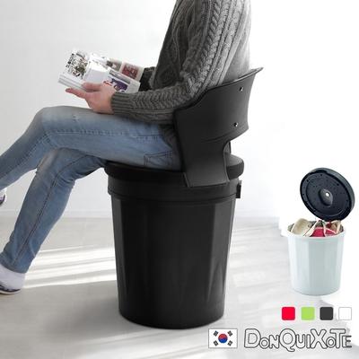 DonQuiXoTe_韓國原裝Tube收納座椅/背靠-4色可選 W50.5*D45.5*H74 cm