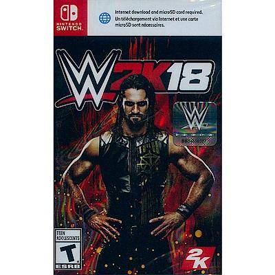 WWE 2K18 激爆職業摔角 18 -Nintendo Switch 英文美版