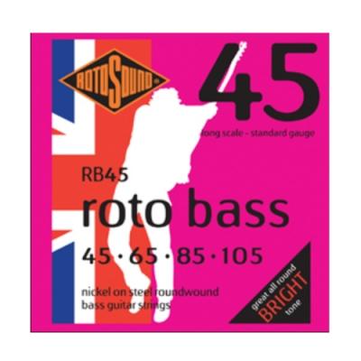 Rotosound RB45 45-105 四弦貝斯套弦