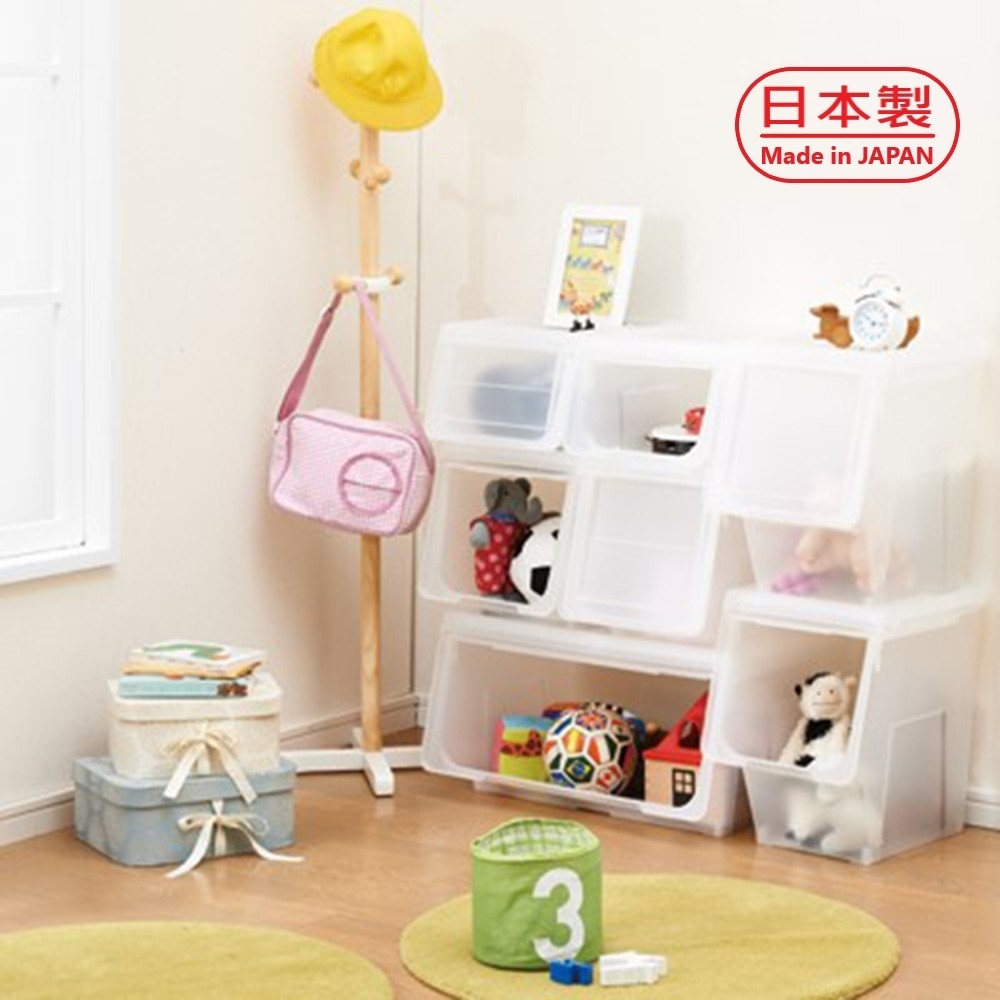 3G+ Storage Box TM7809 日本天馬前掀式整理箱-M(2入)