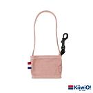 Kiiwi O! 輕便隨行系列可折疊環保帆布飲料袋 粉