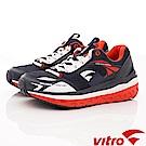Vitro韓國專業運動品牌-OC101-N/R 健走機能鞋-藍紅(男)