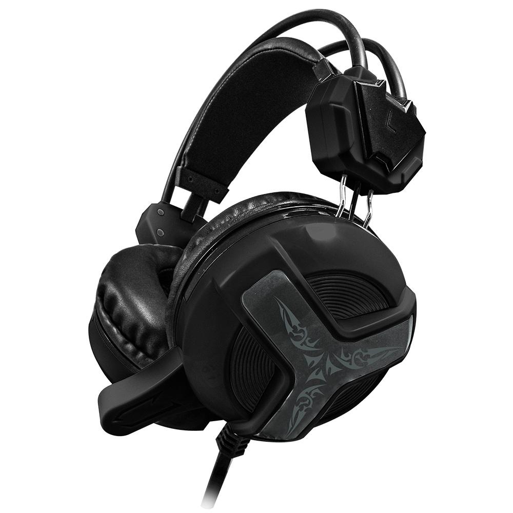 福利品 TCSTAR 電競玩家頭戴式耳機麥克風 TCE9030BK