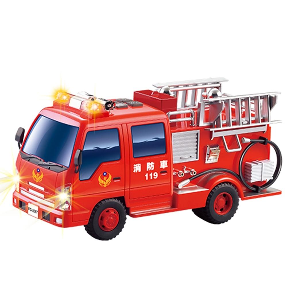 KIDMATE 台灣好車隊/仿真救援車隊 (消防車)