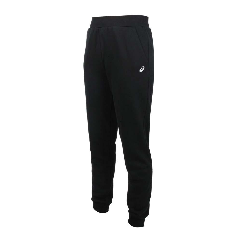 ASICS 女針織長褲-運動 慢跑 路跑 亞瑟士 2032B717-002 黑銀
