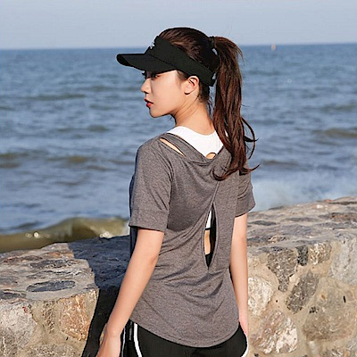 Biki比基尼妮泳衣   易風泳衣短袖罩衫可內搭比基尼(單上衣)