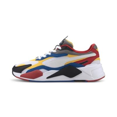 PUMA-RS-X³ PUZZLE 男女復古慢跑運動鞋-白色