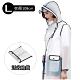 【生活良品】EVA透明黑邊雨衣-口袋設計(L號)附贈防水收納袋(男女適用) product thumbnail 1
